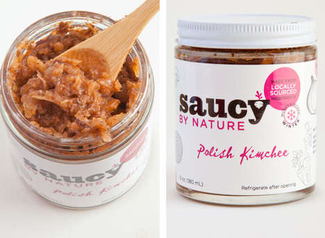 Cultured Relish Condiments - Saucy by Nature's Polish Condiment Gives Snacks the Right Kick