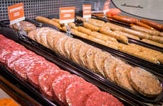 Vegetarian Butcher Shops - Toronto's YamChops is a Butcher Shop with Only Meatless Products
