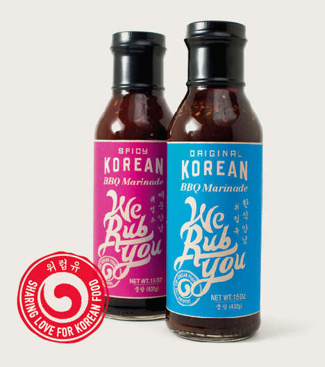 Modern Korean Sauces - The We Rub You Korean BBQ Marinade Brings Sweet and Savory to American Meals
