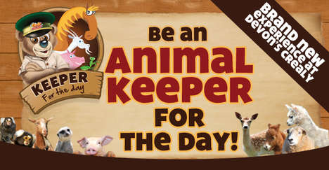 Kid Zookeeper Programs - Crealy Great Adventure Park Now Lets Kids Play 'Animal Keeper for a Day'