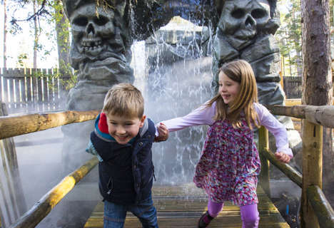 Outdoorsy Adventure Parks - The Landmark Park in Scotland Lets Kids Frolick in Nature