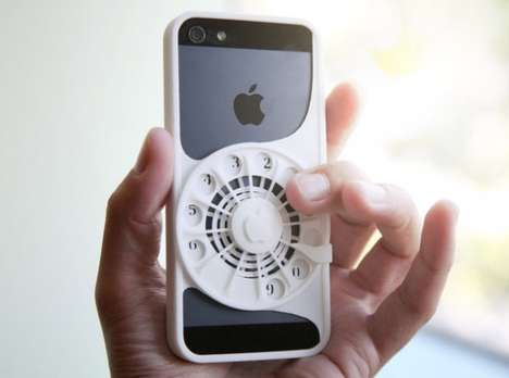 Rotary Phone Cases - Joa Baldwin Created a 3D-Printed Phone Case That Mimics a Rotary Dial