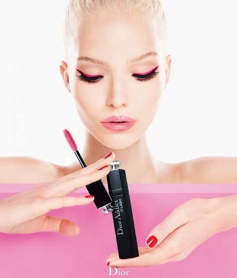 Voluminous Doe-Eye Lookbooks - The Dior Addict Mascara