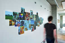 Passion-Projecting Technology - This Wall Projection Project Displays Pictures That Represent You