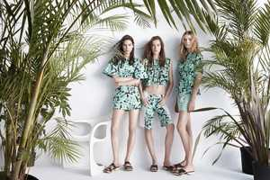 Zara's Spring and Summer Lookbook Boasts Botanical Imagery