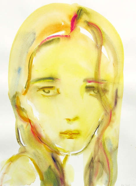 Painted Generation Y Portraits - The Kim McCarty Watercolor Images Depict a Specific Age Group