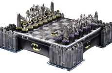 Cityscape Chess Sets - This Gotham City Chess Set Replicates Batman's Hometown