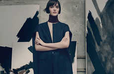 Artistically Expressive Tomboy Editorials - The Dior Magazine 6 Sam Rollinson Shoot is in Studio