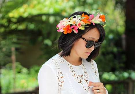 Handmade Paper Crowns - Honestly WTF's DIY Floral Crown is the Perfect Bohemian Accessory