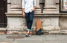 Artisanally Sleek Skateboards