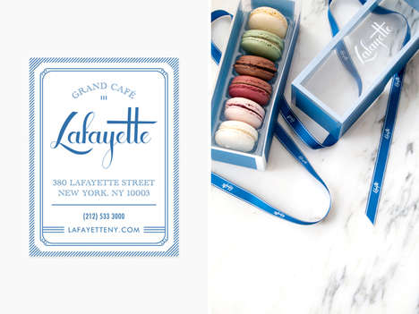 Rustic Patisserie Branding - Lafayette's Charming Visual Branding Identity Channels Parisian Cafes