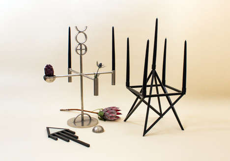 Modern Pagan Furniture - Geometry is God by Material Lust Reinterprets Ancient Symbols