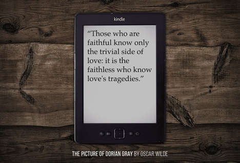 Iconic Literature Quotations - BuzzFeed Brings Us the Most Popular Kindle Quotes