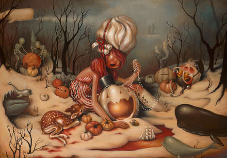Strangely Surreal Illustrations - Brandi Milne