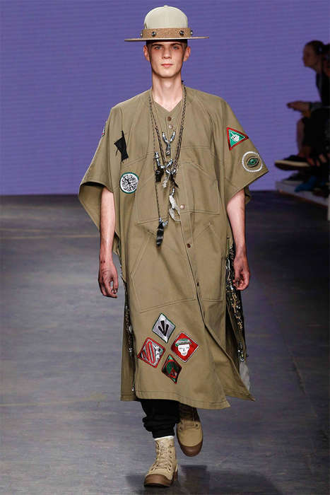 Edgy Park Ranger Runways - The Liam Hodges Spring/Summer 2015 Collection is Fit for Outdoor Living