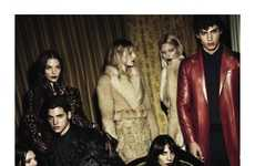 Broody Celeb Fashion Ads - Kendall Jenner Stars in the Givenchy Fall 2014 Campaign