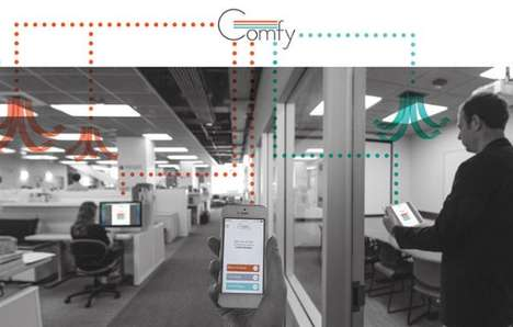 Office Temperature Apps - The Building Robotics 'Comfy' App Helps Office Workers Control Temperature