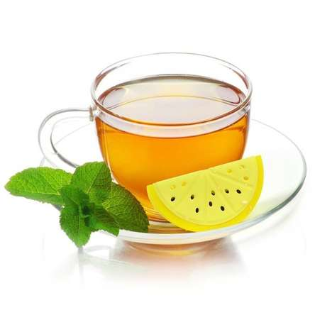 Lemon Wedge Tea Infusers - This Plastic Infuser Quite Literally Puts the Lemon in Tea For You