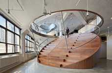 Oval Staircase Workspaces
