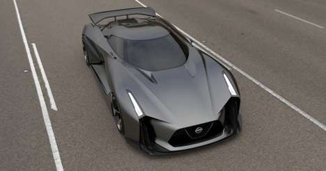 Downloadable Dream Cars - Nissan's Concept 2020 Vision Gran Turismo is Sleek