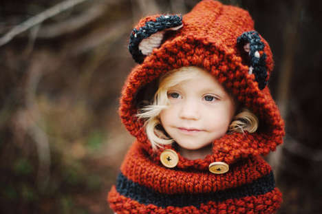 Adorably Animalistic Accessories - Etsy's Simply Batty Shop's Fox Cowl is Inspired by the Forest