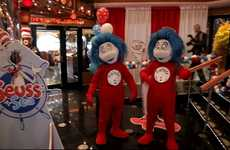 Children's Book Cruises - Carnival Cruise's Dr. Seuss at Sea Brings Favorite Characters to Life