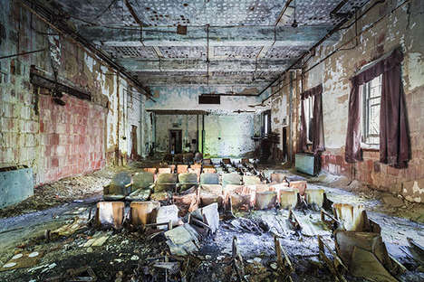 Abandoned Asylum Photography - This Abandoned NYC Photo Series Portrays the City