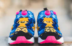 Regal Retro Sneakers - The Concepts x Reebok Insta Pump Fury Sneakers are Royalty-Worthy