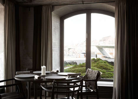 Rugged Danish Landscapes - The Noma Restaurant Features a Miniature Nordic Landscape