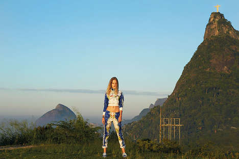 Equatorial Sportswear Lookbooks - The adidas Originals FW 2014 Collection Gets Tropical