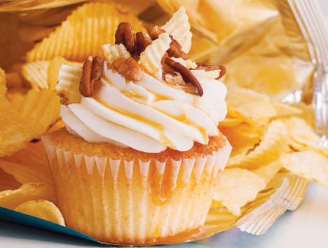 Potato Chip Cupcakes - These Potato Chip Confectionaries by Matt Robicelli are Savory and Sweet