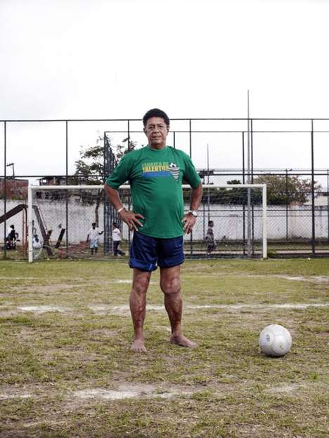 Soccer Hero Photography - Michael Donald Captured Portraits of Former World Cup Champions