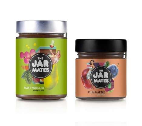 25 Examples of Spreadable Goods Packaging - From Collaged Jam Jars to Cannabis Chocolate Spreads