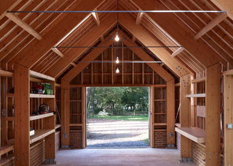 Rustic Garden Studios - This Timber Retreat is a Multi-functional Space