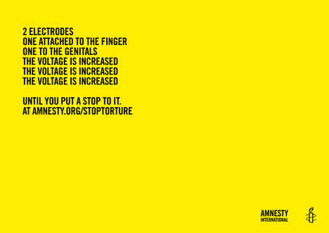 Poetic Torture Ads - Amnesty International