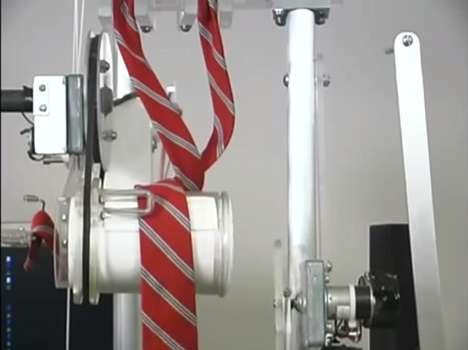Robotic Necktie Devices - The Automatic Tie Tying Machine Helps Dapper Men Out