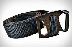 Survivalist Belts - This Utility Belt by the Bison Designs is Perfect for MacGyver Wannabes