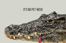 Pet-Devouring Animal Ads - Hide Your Pets During Animal Planet's Monster Week