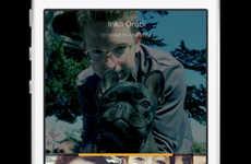 Rival Messaging Apps (UPDATE) - The Facebook Slingshot App Sends Photo Status Updates