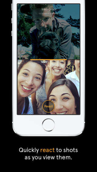 Rival Messaging Apps (UPDATE) - The Facebook Slingshot App Sends Photo Status Updates