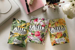 Emily Fruit Crisps Pouches Feature High-Fashion Fruit Prints