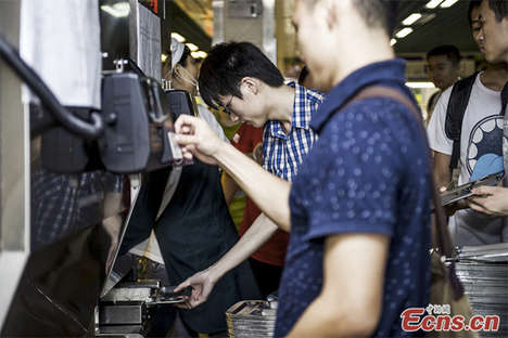 Rice-Dispensing Machines - This Food Vending Machine Produces Steaming Rice for Chinese Students