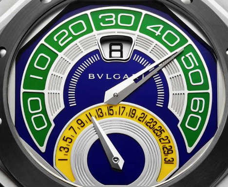 Sporty Brazilian Watches - Bulgari