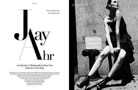 Edgy Parisian Editorials - The Ground Magazine