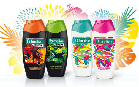 Brazil-Inspired Shower Gels - Palmolive