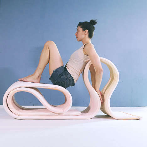 Body Bending Seating - The Body Offers Flexible Seating Option for Every Body Type