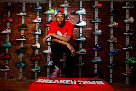 High Top Pawnbrokers - A Teen Entrepreneur Launched the First Sneaker Pawn Shop for High-End Shoes
