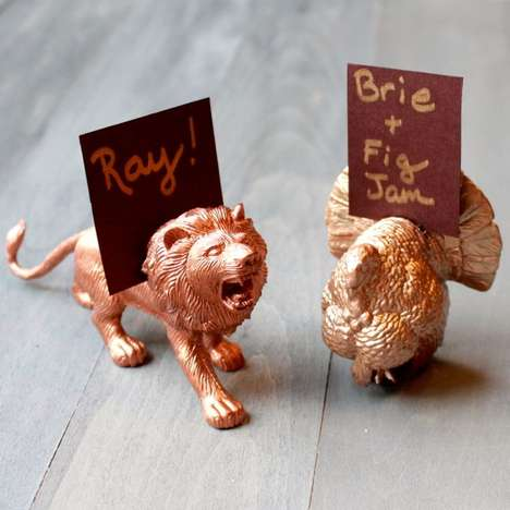 10 Creative Place Cards - From Peachy Place Cards to Insect-Inspired Weddings