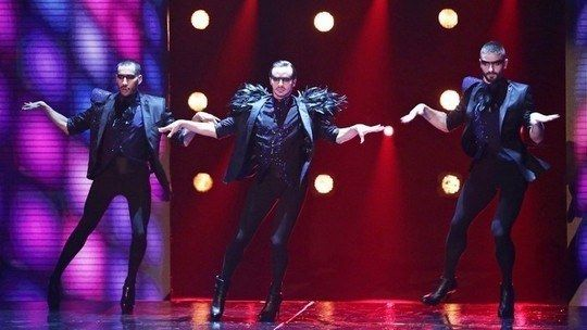 High-Heeled Male Choreography