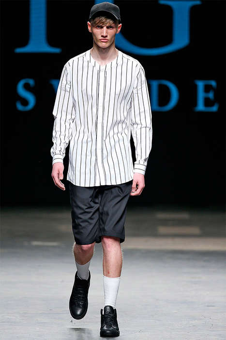 Baseball-Themed Business Attire - The Tiger of Sweden Spring/Summer 2015 Collection is Subtly Sporty